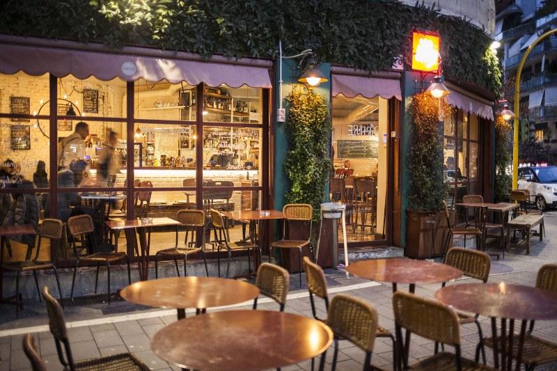 Mangiare all'aperto a Roma: il dehors di Sacco Bistrot!